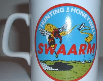 US Army/RAF Royal Air Force Hunting-Honeywell SWAARM anti-tank missile ceramic coffee mug