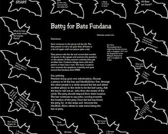 Batty for Bats! Learn all about bats! Fun interactive game for kids, schools, scouts!
