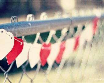 Valentine, hearts, red, white, fine art photography