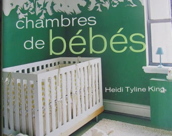 """Inspired design - babies rooms"" book - decorating tips"