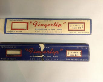 Vintage Canadian Knitting Needles