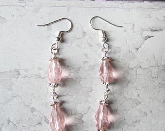 Dangle Earrings, Drop Earrings, Long Earrings, Bridal Earrings, Gift for Her, Silver Earrings, Christmas Gift, Boho Earrings,Stocking Filler