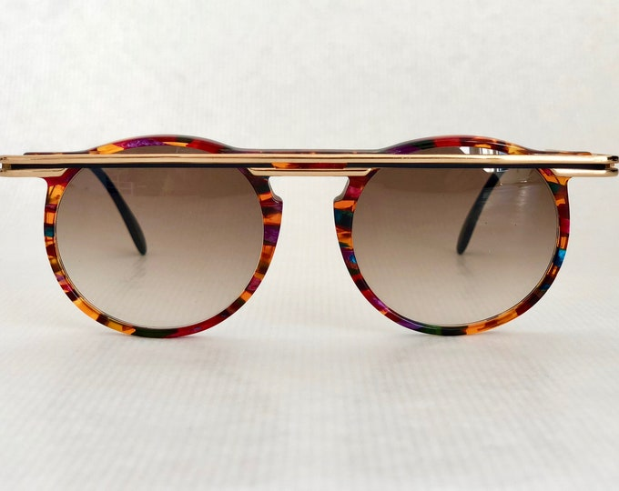 Cazal 648 Col 750 Vintage Sunglasses Made in West Germany New Old Stock