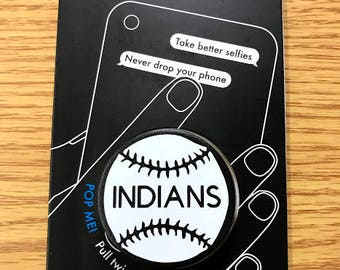 Popsocket with Baseball and team name