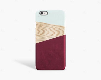 iPhone 8 Case Wood, iPhone 7 Case Wood, Gift for Her, iPhone SE Case Wood, iPhone 6S Case Wood, iPhone 6 Case Wood PRINT Not Real Wood