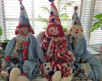 Clown Dolls by Sister Rita