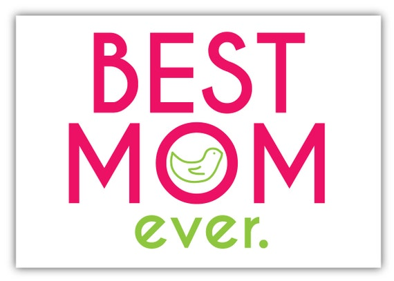 Funny Mothers Day Card Mom Birthday Card Best Mom