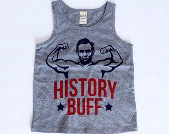History Buff Toddler Tank Top | History Buff Tank Top | 4th of July Toddler Tank | 4th of July Shirt For Kids | Baby Tank Tops |