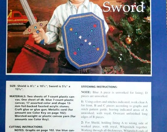Sword and Sheild PDF Pattern only