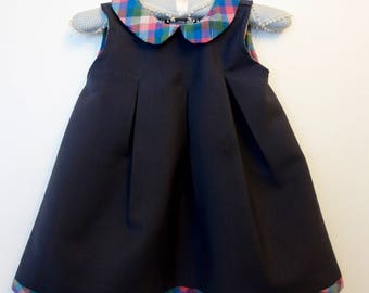 Wool Dress sleeveless classic unwise Louise