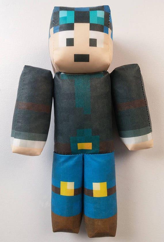 Toy R Us Toy Herobrine : Thediamondminecart minecraft dantdm plush toy
