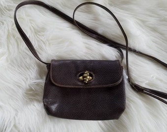Vtg Brown Capezio Bag
