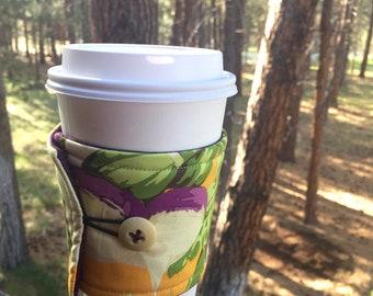 Reusable Coffee Sleeve - Turnips
