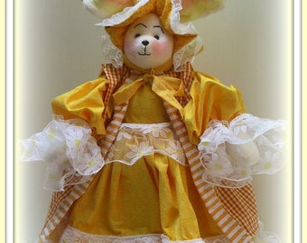 Bernice Me, Bunny - Victorian Bunny Art Doll E-Pattern