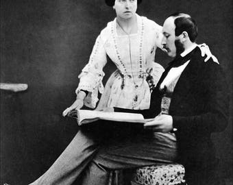 Poster, Many Sizes Available; Queen Victoria And Prince Albert, 1854