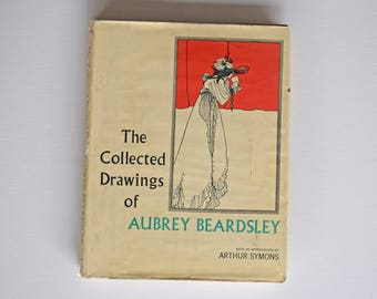 "Vintage Book ""The Collected Drawings of Aubrey Beardsley"" ©1967 - Over 400 Sketches and Drawings - Mature Adults Only"