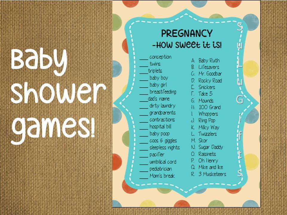 Baby Shower Candy Bar Game Baby Shower Candy Bar Game Printable Lil