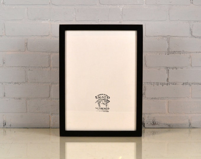 A3 Size Picture Frame in 1x1 Flat Style and Finish Color Of Your Choice - Handmade Frame 297 x 420 mm - A3 Frame - 11.7 x 16.5 inches