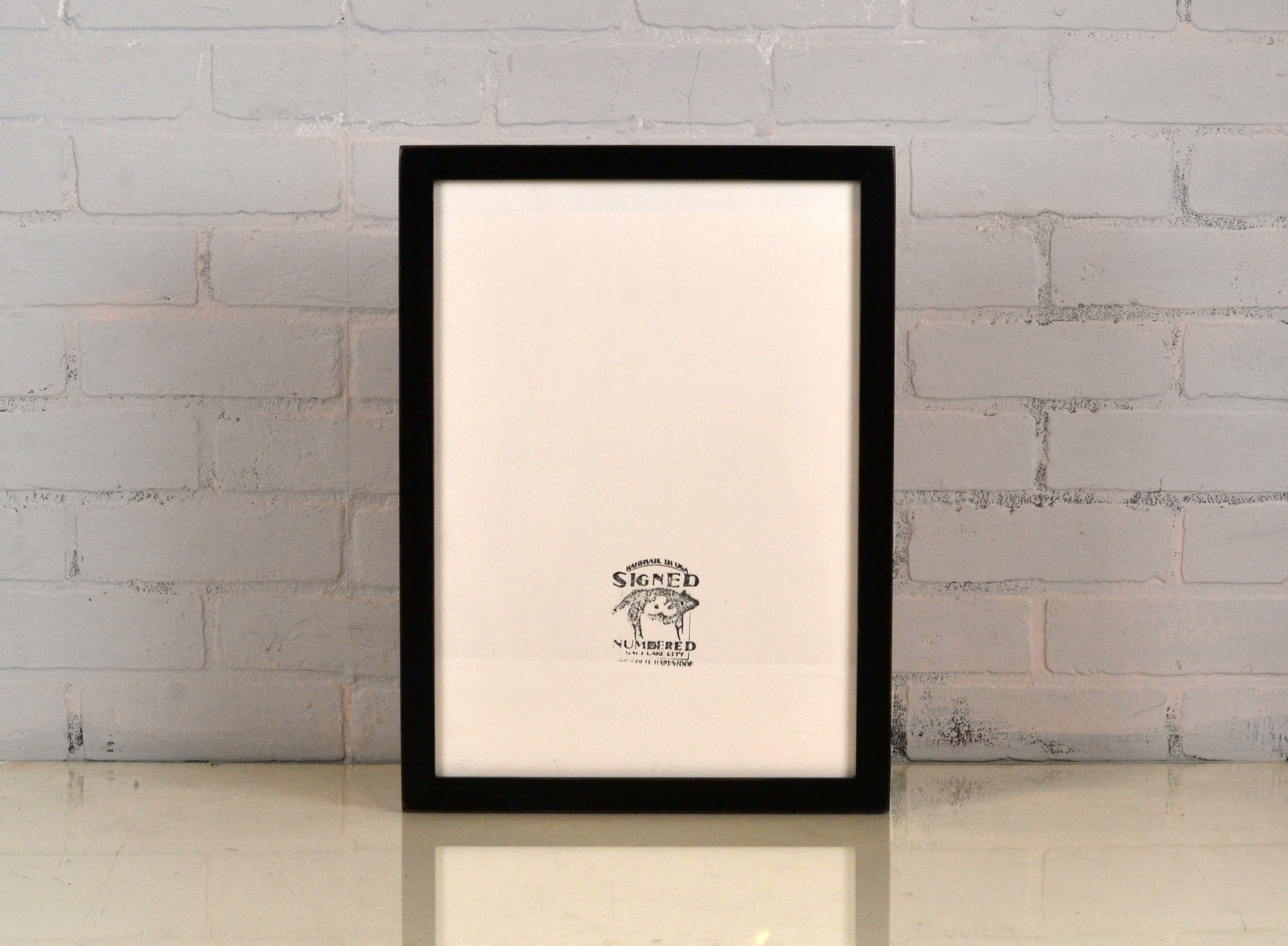 A3 Size Picture Frame in 1x1 Flat Style and Finish Color Of