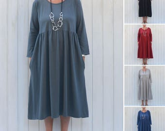 Womens Lagenlook Womens Plus Size Dress, Womens Clothing, Bohemian, Lagenlook Clothing, 14 16 18 20 22 24 26 28  XL XXL XXXL  7015