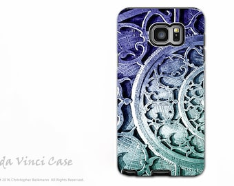 Steampunk Case for Samsung Galaxy Note 5 - Premium Dual Layer Galaxy Note Case - Astro Industrial - Abstract Note 5 Case by Da Vinci Case