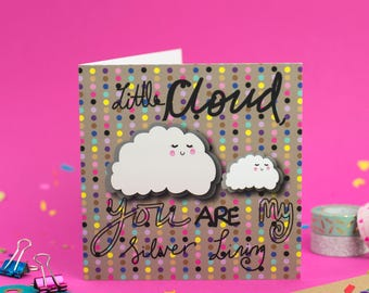 Little Cloud - Greeting Card