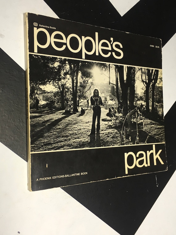 People's Park edited by Alan Copeland (Softcover, 1969)