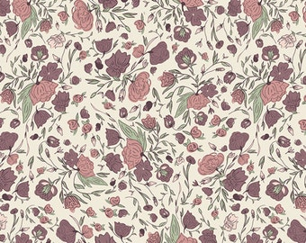 Blossom Drift Flushed from Hello Ollie Collection by Bonnie Christine for Art Gallery Fabrics
