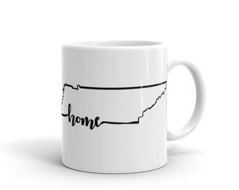 Tennessee Home State - Coffee Mug