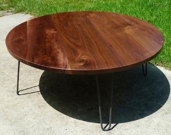 "The ""Sencillo"" Coffee Table w/ hairpins"