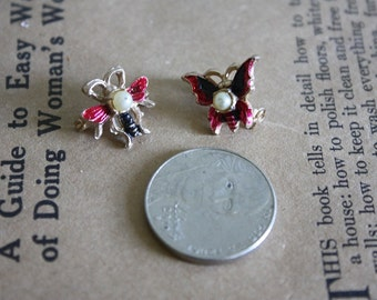 Butterfly and Bee Scatter Pins