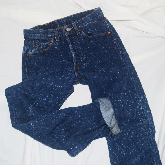 Vintage Levis 501 / W34L30 / raw hem jeans / high rise jeans / high waisted jeans / boyfriend jeans / made in USA / black levis VjPjAVhQ
