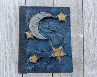 Blank Journal Stars and Moon