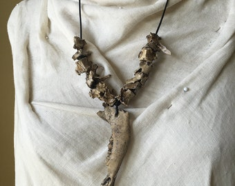 Goat Jaw Trophy Necklace