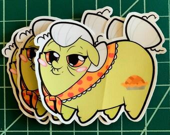 Apple Pony Chubs! Granny Smith Sticker
