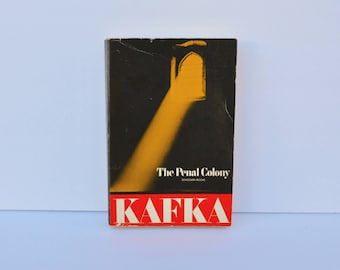 The Penal Colony Franz Kafka 1976 Softcover