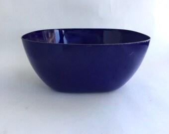 Fantastic Square Catherine Holm Blue Enamel Bowl
