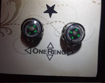 Working Compass earrings