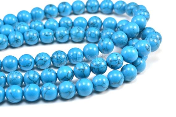 Modeschmuck perlen blau