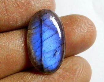 10.25 Carat Amazing Quality Natural labradorite Oval Cabochon 22x13x5 MM Size AAA+++ Quality Amazing Blue Flash Oval Shape in low prize RI4