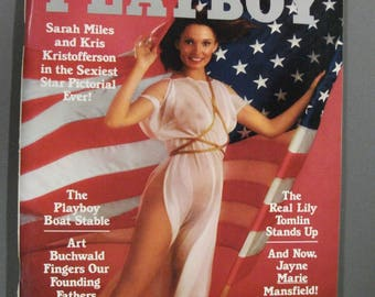 Playboy Magazine:  July   1976