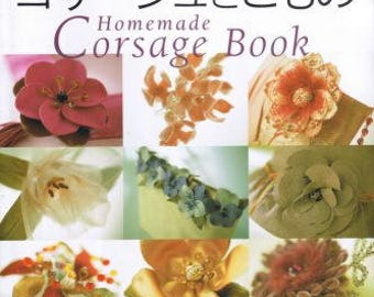 Homemade Corsage & Small Goods - Japanese Craft Book - Used
