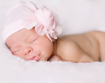 NEWBORN GIRL BABY hat, newborn girl, newborn girl hat, newborn hat, newborn hospital hat, newborn hat, newborn, baby hat, baby girl