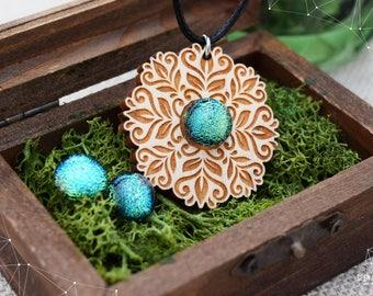Fairy Tale jewelry set - Apple Green