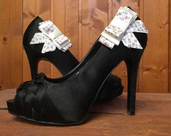Shoe decoration bow. Bow Shoe Clips