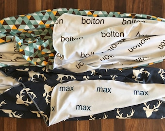 PERSONALIZED Swaddle Blanket - Baby Blanket - photo prop, baby gift, baby shower, stroller blanket, receiving blanket
