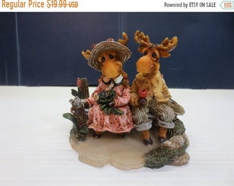 Whole Shop on Sale Mooseberry Farms {Simple Pleasures} 1996 Fine Resin Figurine