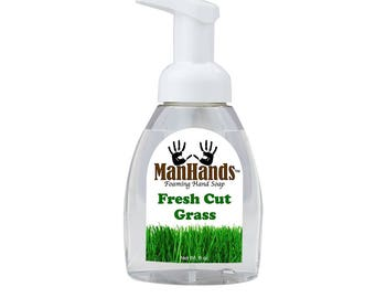 Fresh Cut Grass Foaming Soap 8oz.