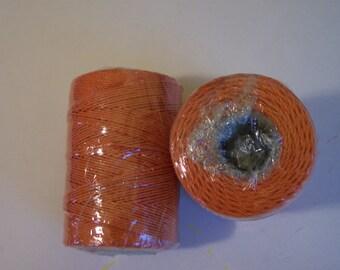 MACRAME COTTON CORD- Orange