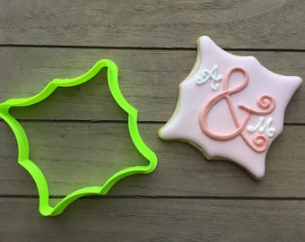 Linsey Plaque Cookie Cutter / Fondant Cutter